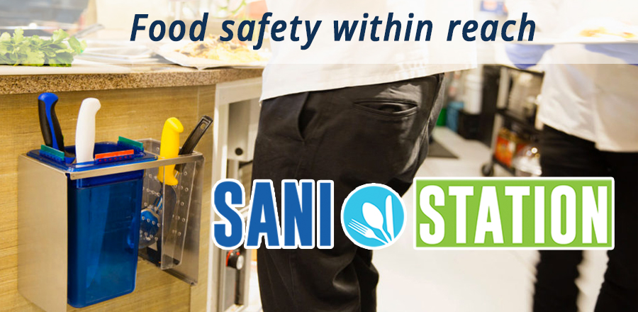 Sani Station cleaning staions are now available