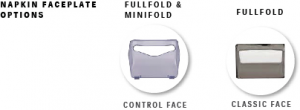Napkin Faceplate Options
