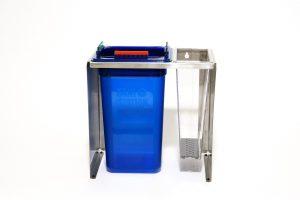 """An image of the Sani Station 5"""" Utensil Cleaner Starter Kit on white"""