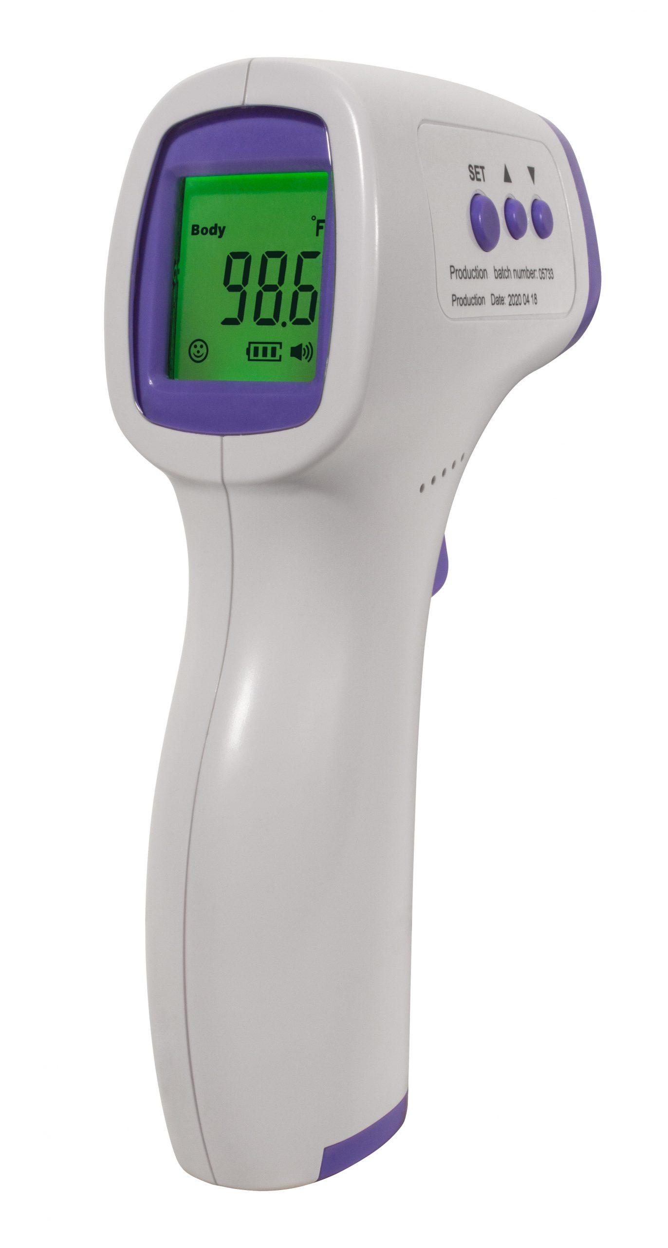Non Contact Fda Infrared Forehead Thermometer San Jamar